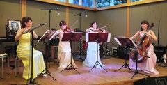 演奏中のウォルフィー室内合奏団