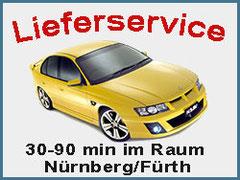 Lieferservice Raum Nürnberg/Fürth