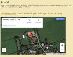 Zur Hompage des Landhotels Möllhagen