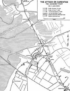 Der Angriff auf Carentan über die Purple Heart Lane, 10.-11. Juni 1944