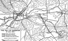 Die Einnahme Carentans, 12. Juni 1944