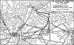 Der Angriff auf Carentan - die linke Flanke, 10.-11- Juni 1944