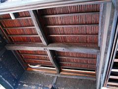 和室茶の間 天井工事 壁は漆喰塗り