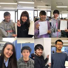 合格を勝ち取った本校・横浜校の卒塾生たち