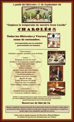 Restaurante recomendado San Lorenzo del Escorial