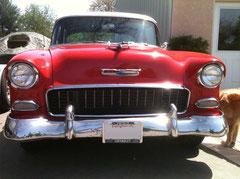 1955  1956 Chevy Bug Screen