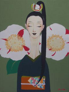 肥後椿-Higo camellia-