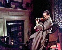 Holmes mélancolique à la fin de l'épisode