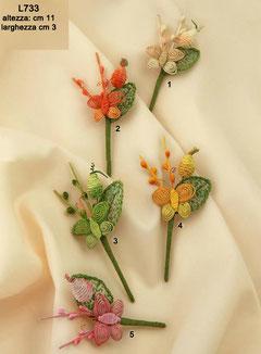 fiori rustici farfalla