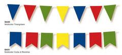 Bandierine multicolor