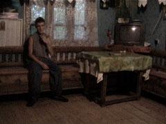 """""""Une maison roumaine sous la pluie"""" 2006"""