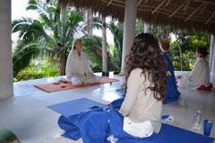 Méditation après yoga à Tailwind- Mexico