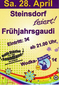 Frühjahrsgaudi in Steinsdorf 28.04.2012
