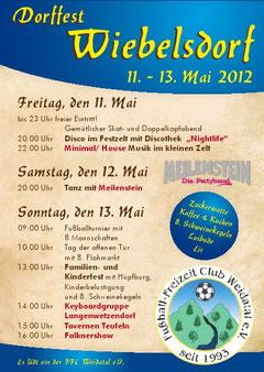 Dorffest in Wiebelsdorf 11.-13.05.2012