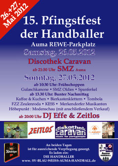 Pfingstfest der Handballer Auma