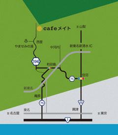 MAP 静岡市清水区大平852−1−1