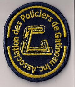 Association des Policiers de Gatineau Inc.  (petit / small)  (Neuf / New)  1x
