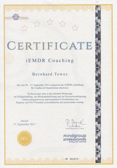 Zertifikat iEMDR