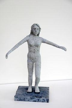 La danseuse, terre cuite, D.Petit