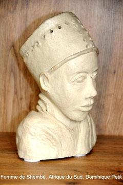 Femme de Shembé, Afrique du Sud, D.Petit