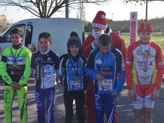2ème place pour notre Benjamin Loïs Saubère Cyclo-cross 2015 à Toulouse (31)