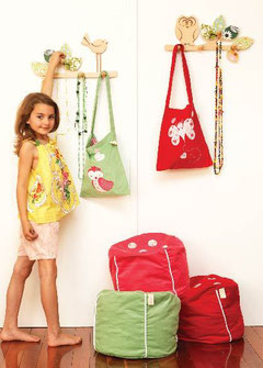 Kids bags-library bags