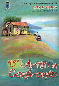 Copertina del catalogo della 49 ^ rassegna.
