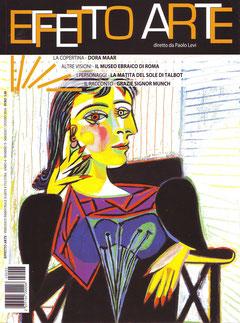 """Copertina rivista """"Effetto Arte"""" maggio - giugno 2014"""