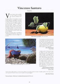 Pag. 85 del catalogo d'Arte dell'Accademia Internazionale dei Dioscuri
