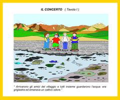 Il concerto - I^ tav. con didascalia