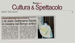 Articolo di Taranto BuonaSera del 1° aprile 2015