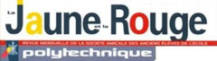 """Logo """"La Jaune et La Rouge - Polytechnique"""""""