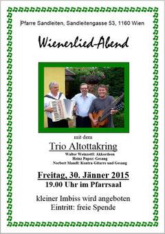 Einladung zum Wienerlied Abend (PDF)