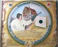 Die Rekordscheibe - gefertigt für den 60. Geburtstag von Adolf Zeliska!