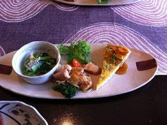 大和肉鶏&野菜料理
