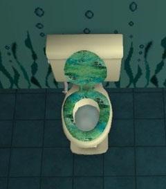Recoloration Toilettes peinard