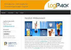 Website LogiPack Screenshot