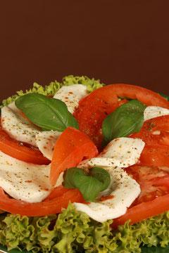 Tomate-Mozzarella-Teller