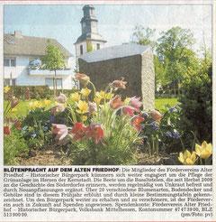 Wetterauer Zeitung vom 29. April 2011