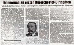 Wetterauer Zeitung vom  21. Okt. 2008