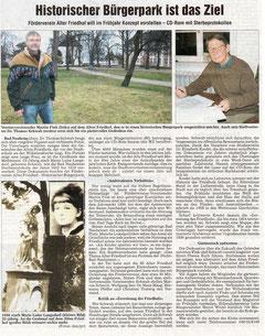 Wetterauer Zeitung vom 3. Jan. 2008