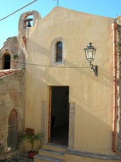 Chiesa dei SS. Cosma e Damiano: faccciata