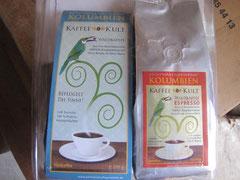 Kaffee  und Espresso KULT für den deutschen Markt