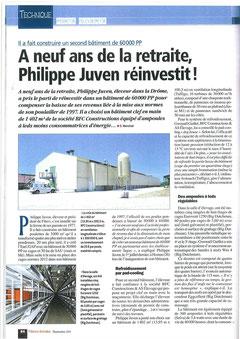 Inauguration 60000 pondeuses en cages Filières Avicoles  Septembre 2011