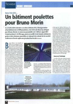 Inauguration poussinière Filières avicoles juin 2012