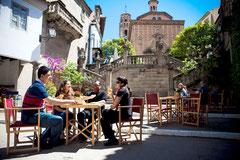 Испанская деревня, гид в Барселоне