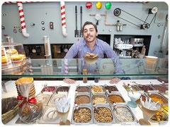 Мороженое Рокамболеска в Жироне, Ресторан Ла Рока в Жироне