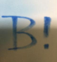 B! の由来 は え。さん が Peggle英語版で自分の名前をそのまま…