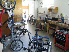 Dreirad für Erwachsene Werkstatt