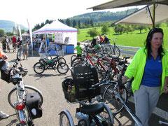 Dreirad für Erwachsene Probefahrt